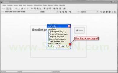 Úvodní nastavení - nastavení AutoStatu, rozšířené možnosti